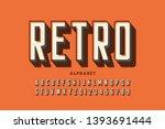 retro offset printing style... | Shutterstock .eps vector #1393691444