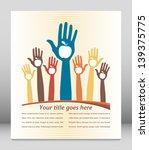 healthy apple hands design with ...   Shutterstock .eps vector #139375775