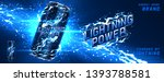energy drink ads banner... | Shutterstock .eps vector #1393788581