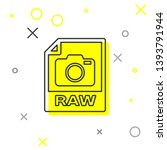 grey raw file document icon....   Shutterstock .eps vector #1393791944