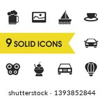 season icons set with... | Shutterstock .eps vector #1393852844