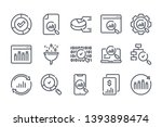 research related line icon set. ...