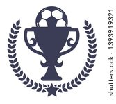 football match win prize...   Shutterstock .eps vector #1393919321