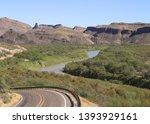 Rio Grande River And River Roa...