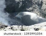 mount bromo  an active volcano... | Shutterstock . vector #1393991054