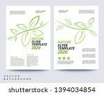 vector business brochure  flyer ... | Shutterstock . vector #1394034854