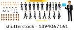 businessman character model... | Shutterstock .eps vector #1394067161