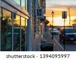 beautiful sunset over popular... | Shutterstock . vector #1394095997