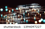 data volume analysis and...   Shutterstock . vector #1394097227
