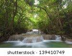 Waterfall In Deep National...