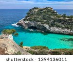 the mallorca spain coastline | Shutterstock . vector #1394136011