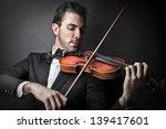 Violinist Playing Violin