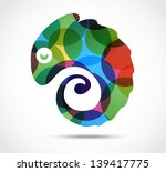 chameleon vector download 5 silhouettes page 1