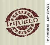 red injured distress rubber...   Shutterstock .eps vector #1394189291