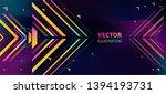 conceptual modern style... | Shutterstock .eps vector #1394193731