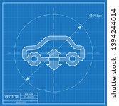 car pneumatic or hydraulic...   Shutterstock .eps vector #1394244014