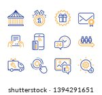 receive file  24h service and... | Shutterstock .eps vector #1394291651