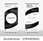 vertical roll up banner  ...   Shutterstock .eps vector #1394305631
