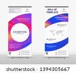vertical roll up banner  ...   Shutterstock .eps vector #1394305667
