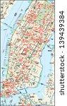New York  New York Downtown Map