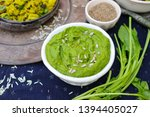 Green Spinach Dip Sauce Paste...
