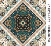 seamless pattern based on... | Shutterstock .eps vector #1394418527