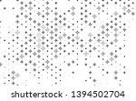 light silver  gray vector cover ... | Shutterstock .eps vector #1394502704