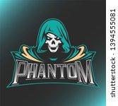 Skull Phantom Logo Mascot...