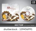 cd cover design for your... | Shutterstock .eps vector #139456991