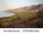 panoramic view from coastal... | Shutterstock . vector #1394581361