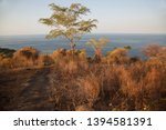 panoramic view from coastal... | Shutterstock . vector #1394581391