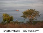 panoramic view from coastal... | Shutterstock . vector #1394581394
