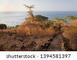 panoramic view from coastal... | Shutterstock . vector #1394581397