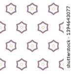 geometric ornamental vector... | Shutterstock .eps vector #1394643077