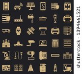 hardware icons set. simple... | Shutterstock .eps vector #1394661521