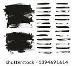 calligraphy paint thin brush... | Shutterstock .eps vector #1394691614