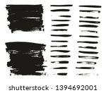 calligraphy paint thin brush... | Shutterstock .eps vector #1394692001