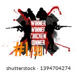 squad militarys. slogan  ... | Shutterstock .eps vector #1394704274