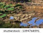 honghe yuanyang  samaba rice... | Shutterstock . vector #1394768591
