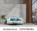 interior living room wall...   Shutterstock . vector #1394786081