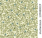 seamless floral pattern with... | Shutterstock .eps vector #139480019