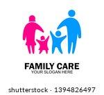 family care love logo and... | Shutterstock .eps vector #1394826497