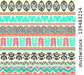 tribal ethnic seamless | Shutterstock .eps vector #139483214