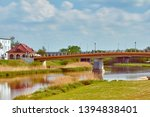 River Warta in Konin {Torunski bridge)