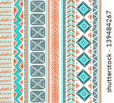 tribal ethnic seamless | Shutterstock .eps vector #139484267