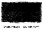 dry brush strokes and scratches ...   Shutterstock .eps vector #1394854094