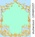 seamless pattern  background in ... | Shutterstock .eps vector #1394892257
