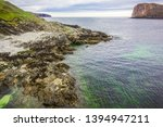 stony coast and seascape ... | Shutterstock . vector #1394947211