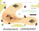 action war game isometric... | Shutterstock .eps vector #1394965907