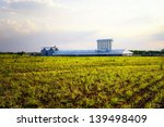 agriculture factory with silo... | Shutterstock . vector #139498409